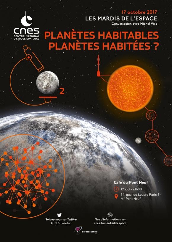Mardis de l'Espace : 17 Octobre 2017 - Planètes habitables, planètes habitées ?
